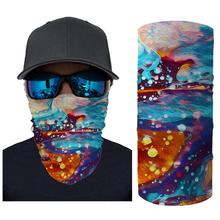 Outdoor Women Men Anti Dust Head Mask Scarf Neck Windproof Face Sun protection Headband Washable Reusable