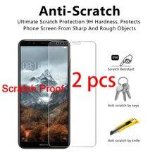 2pcs! Toughed 9H HD Protective Glass for Huawei Y7 Prime Y6 Pro Y5 Lite Y3 Tempered Glass Screen Protector on Huawei Y6 Y5 Y3 ii демисезонные ботинки y3 y 3 y3