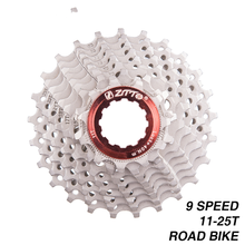 ZTTO 11-25T 9s 25T Freewheel 9 Speed Cassette Road Bike Bicycle Parts 18S 27S Speed Sprocket for Sora 3300 3500 R3000