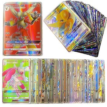 200 sztuk Pokemon TAG zespół EX Shining karty pole gry MEGA GX wyświetlacz energii Pokémon karty bitwa handlu Carte zabawki dla dzieci prezent tanie i dobre opinie TAKARA TOMY CN (pochodzenie) 7-12m W wieku 0-6m 13-24m 25-36m 4-6y 12 + y 7-12y can t eat pokemon card Certyfikat europejski (CE)
