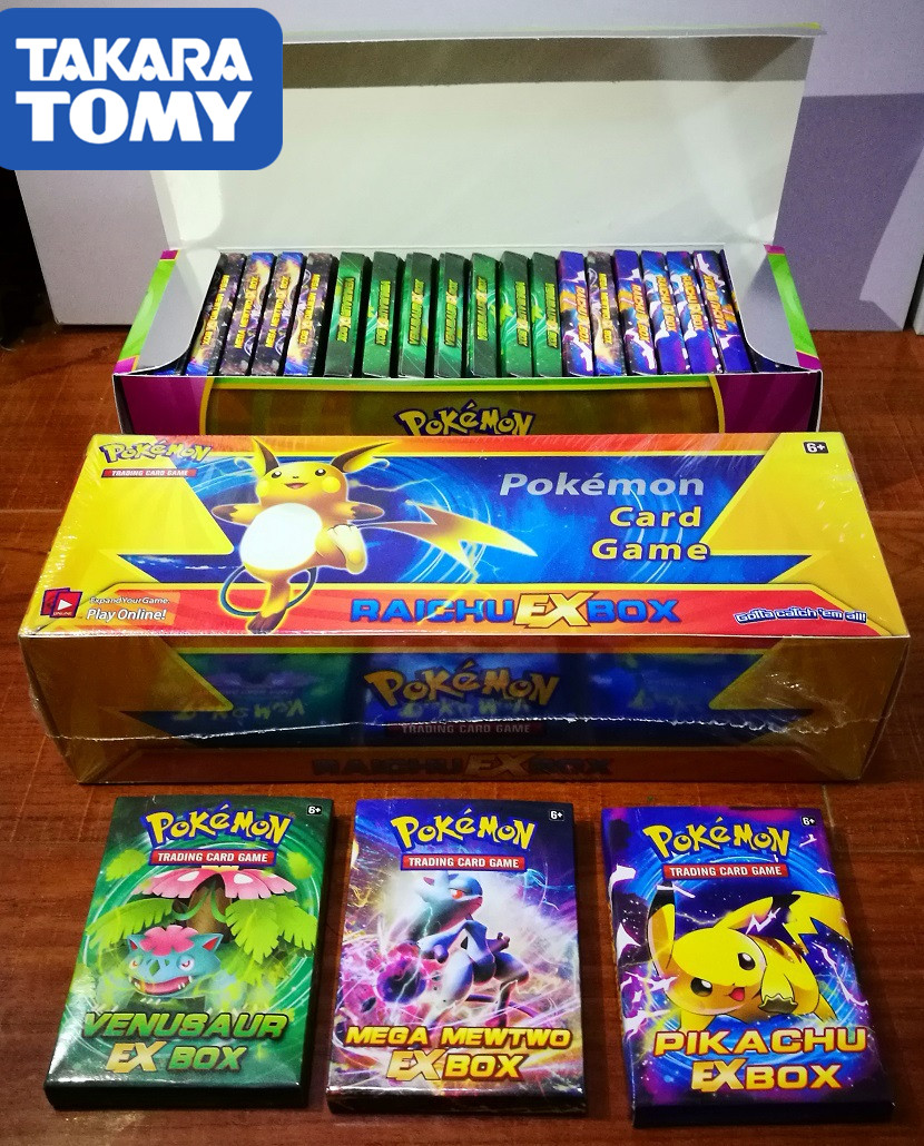 408pcs TAKARA TOMY Pet Pokemon Cards Contain EX   Pokemon Cards   The Toy Of  Children Toy Card Versus Flash Card
