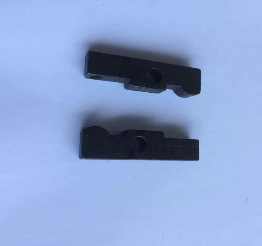 2pc vertical rocker arm turret milling machine milling head accessories B145 springboard transmission key