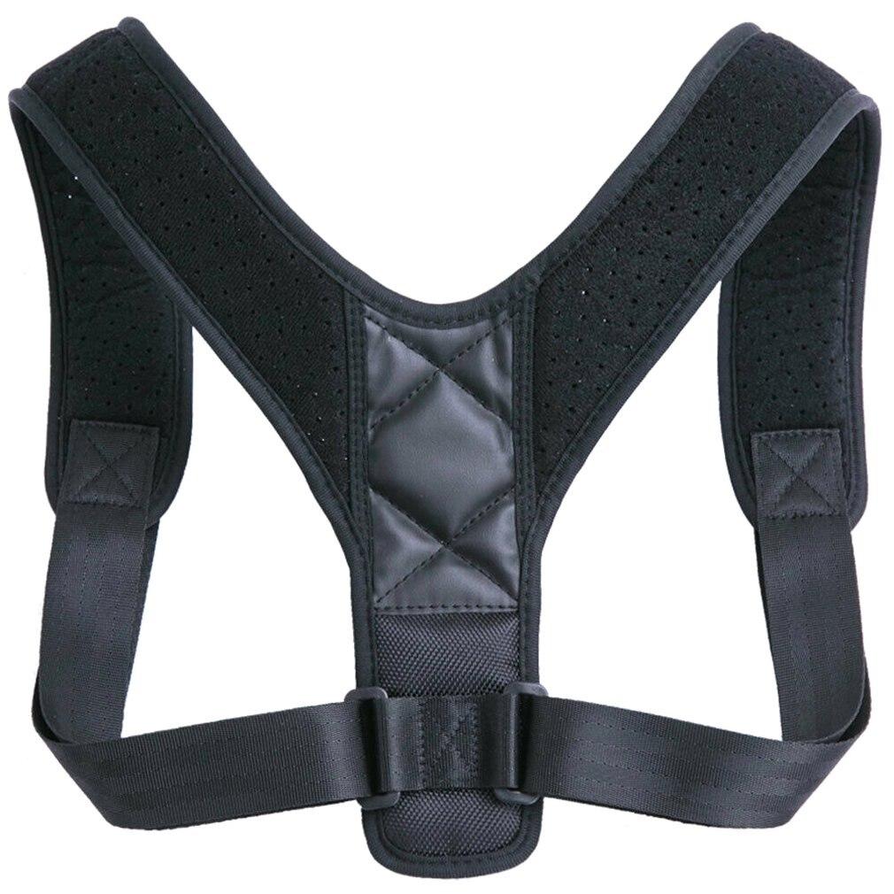 Back Correction With Breathable Adjustable Humpback Sitting Posture Corrector Men And Women Children Back Shoulder Support