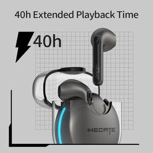 Image 4 - HECATE GM5 Tws Tai Nghe Chơi Game Qualcomm AptX Bluetooth 5.2 Độ Trễ Thấp 40H Thời Gian Phát Nhạc Không Dây Bluetooth Tai Nghe Nhét Tai Bởi EDIFIER