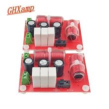 GHXAMP 120 واط مضخم الصوت كروس 4 8Ohm باس المتكلم تردد مقسم ل 4 8 مضخم صوت الصوت تحسين جودة الصوت 2 قطعة