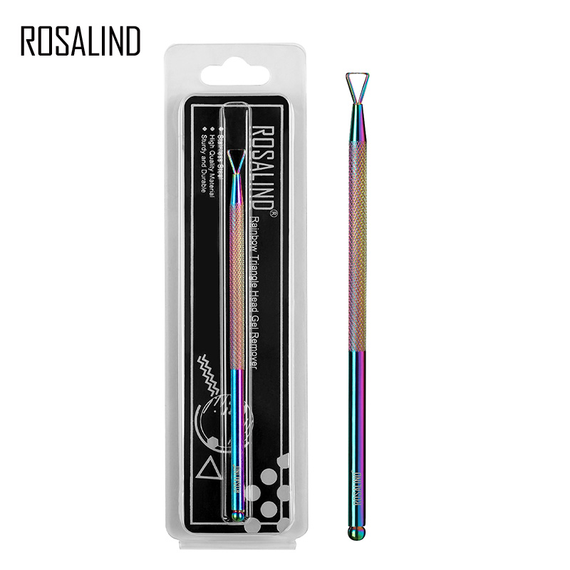 Rosalind 1 Pc Stainless Steel Gel Polish Remover Manicure Tools Durable Magic Remover Nail Art Tool in Cuticle Pushers from Beauty Health