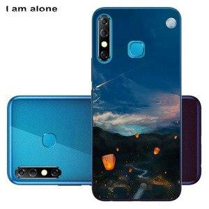 Сумка для мобильного телефона I am alone для Tecno Camon 12 12 Air Spark 4 2019 Solf, чехлы из ТПУ на заказ, модный телефон, бесплатная доставка