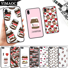 food Chocolate Nutella Silicone Soft Case for Redmi 4A 4X 5 Plus 5A 6 Pro 6A 7 7A S2 Go K20 Note Prime 8