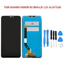 עבור Huawei 2019 כבוד 8A 8C 8S LCD תצוגת מסך מגע Digitizer עצרת ללא מסגרת החלפת חלק