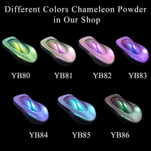 Chameleon Powder Coating Pigment for Automotive Arts Crafts Nail Decoration Changeable Color 10g