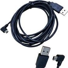 1 قطعة USB 2.0 وذكر التوصيل إلى البسيطة 5 دبوس اليسار بزاوية 90 درجة التوصيل كابل بيانات الحبل 1.5 M/5FT 3 M/10FT الأسود