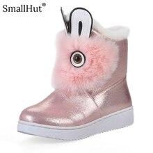 اليدوية حذاء من الجلد النساء الخريف الشتاء موضة PU جديد حذاء مسطح E198 السيدات الدافئة الشظية الذهب فراشة عقدة جولة تو الأحذية