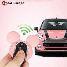 Miky, porte clés de voiture à la mode, housse pour clés de voiture, accessoires pour MINI Cooper S F54 F55 F56 F57 F60, Hello Kitty