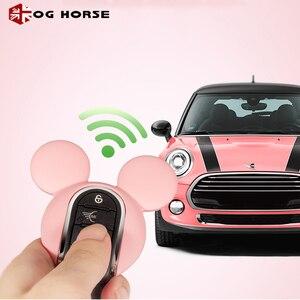 Image 1 - Xe Móc Khóa Trang Trí Thời Trang Nữ Chìa Khóa Da Ốp Lưng Hello Kitty Miky Tạo Kiểu Phụ Kiện Mini Cooper S F54 F55 F56 f57 F60