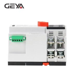 Image 3 - Geya dinレール 220v 2 ポールats電源自動転送スイッチ 63A 100A 50/60 50hzのパソコングレードatse