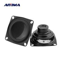AIYIMA 2Pcs 2 Zoll Full Range Audio Lautsprecher 8 Ohm 5W Hifi Fieber Lautsprecher DIY Heimkino Sound verstärker Bluetooth Lautsprecher