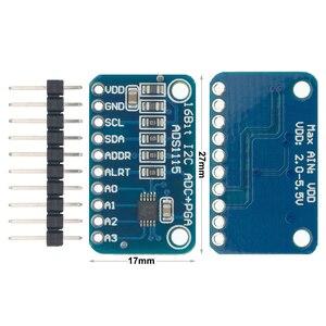 Image 3 - 10pcs ADS1115 ADC ultra compact 16 precision ADC module development board