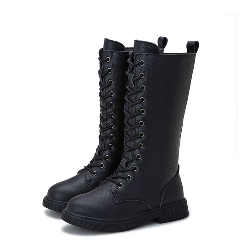snow-boots-2019-winter-new-girls-cotton-shoes-leather-children-martin-boots-korean-fashion-casual-boy-knight-boots