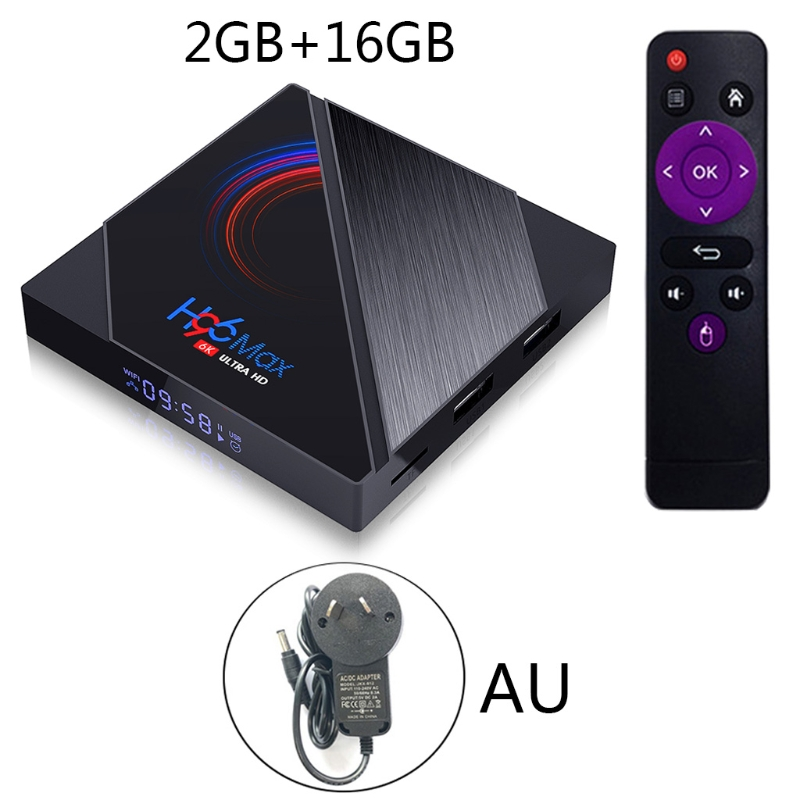 Смарт ТВ-приставка H96 MAX 16 ГБ 32 ГБ 64 Гб Allwinner H616 четырехъядерный ARM Cortex A53 Wifi BT4.0 Youtube воспроизводительный Интеллектуальный ТВ-приставка
