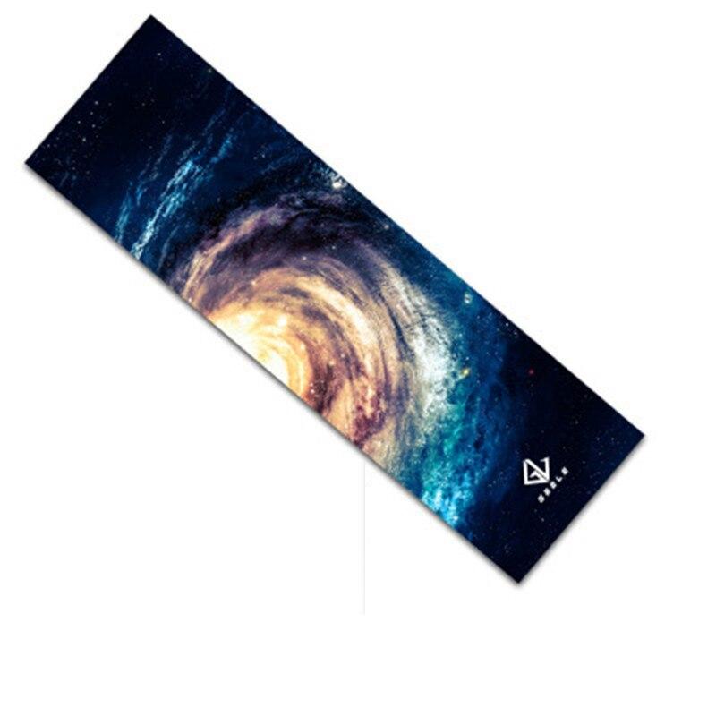 Papier de verre pour planche à roulettes,autocollant, double bascule au vaporisateur numérique Emery, bande adhésive, trottinette, 5