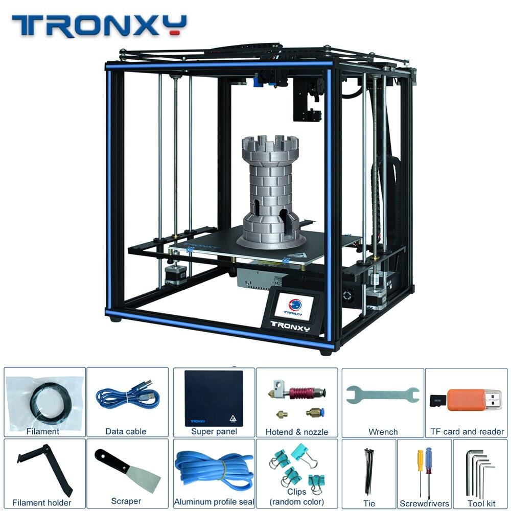Tronxy линейная направляющая 24 В X5SA Pro OSG двойная ось внешняя направляющая 3d принтер FDM машина автоматический уровень датчик накаливания Новый