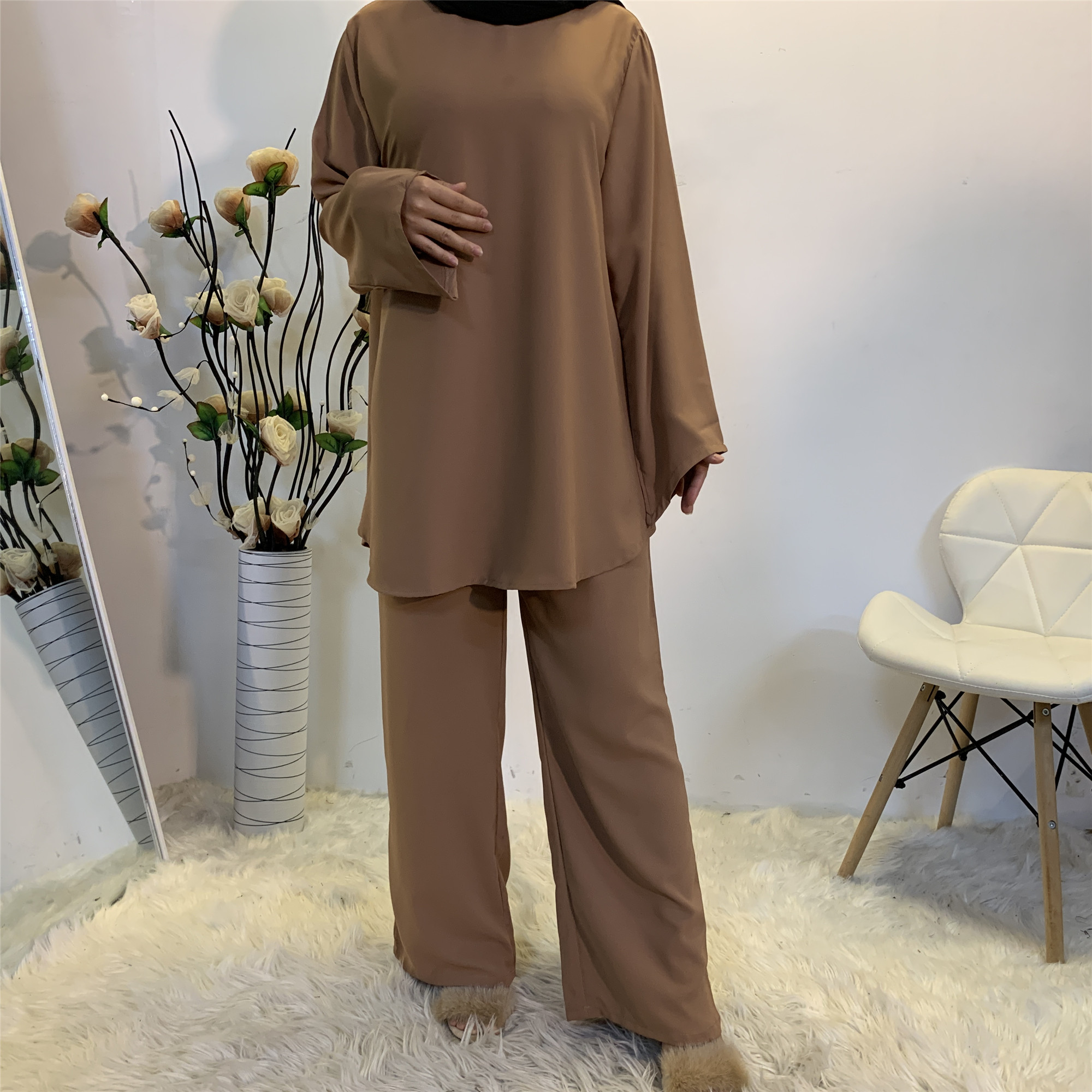 Купить дубай abaya турция комплекты для мусульман kaftan hijab платье