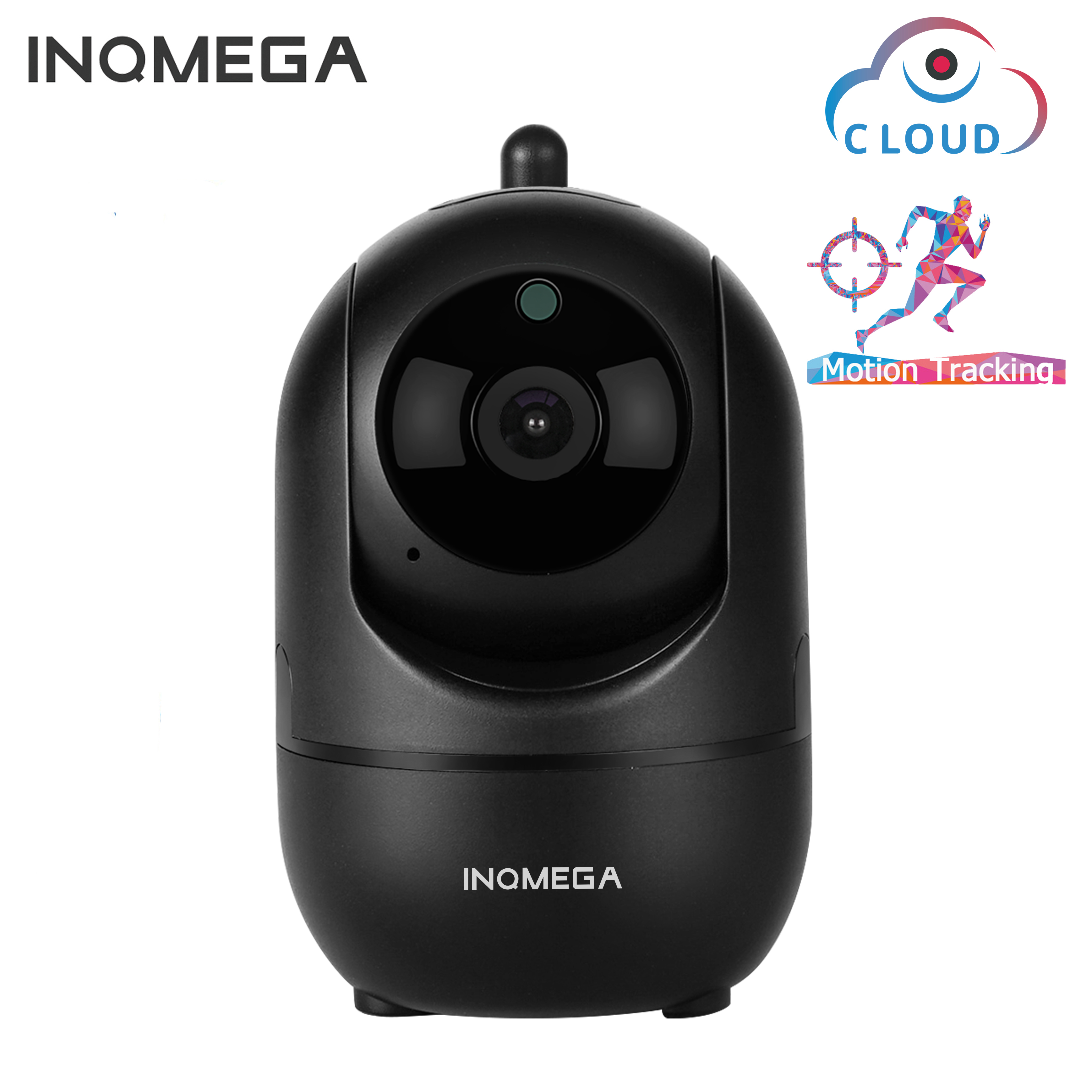 INQMEGA HD 1080P Cloud Wireless IP Camera Intelligent Auto Tracking Of Human Home Security Surveillance CCTV Network Wifi Camera image
