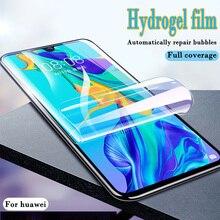 Zachte Hydrogel Screen Protector Film Voor Huawei P20 P30 Lite Pro Beschermfolie Voor Huawei Mate10 20 Lite Pro Film niet glas