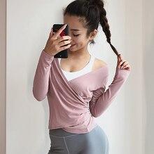 Women Sports Overalls Blouse Yoga  Fitness Top Vest Shockproof Sport Bra T Shirt Running Underwear