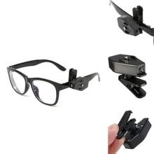 Светодиодный зажим для очков для кемпинга походные очки для рыбалки Светодиодная лампа для рыбалки Glasse ночник инструменты для очков