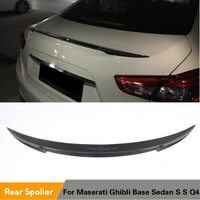 Voor Maserati Ghibli Base Sedan S S Q4 2014 2015 2016 Carbon Fiber Kofferbak Spoiler Boot Deksel Lip Wing
