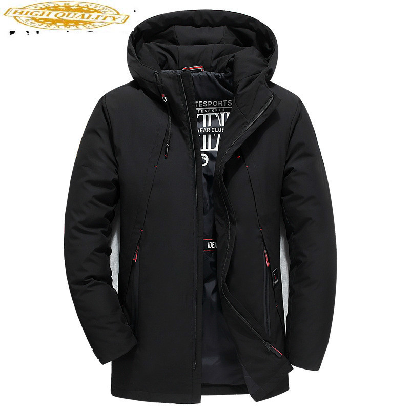 Duck Down Jacket Men Korean Plus Size Winter Coat Men Casual White Duck Down Puffer Jacket Men Warm Casaco 111 YY1314