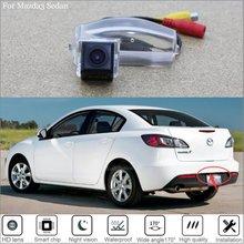For Mazda 3 Axela BK BL Mazda3 2004~2013 CCD Car Rear View Camera Backup Reversing Video Parking Assistance Kit Waterproof