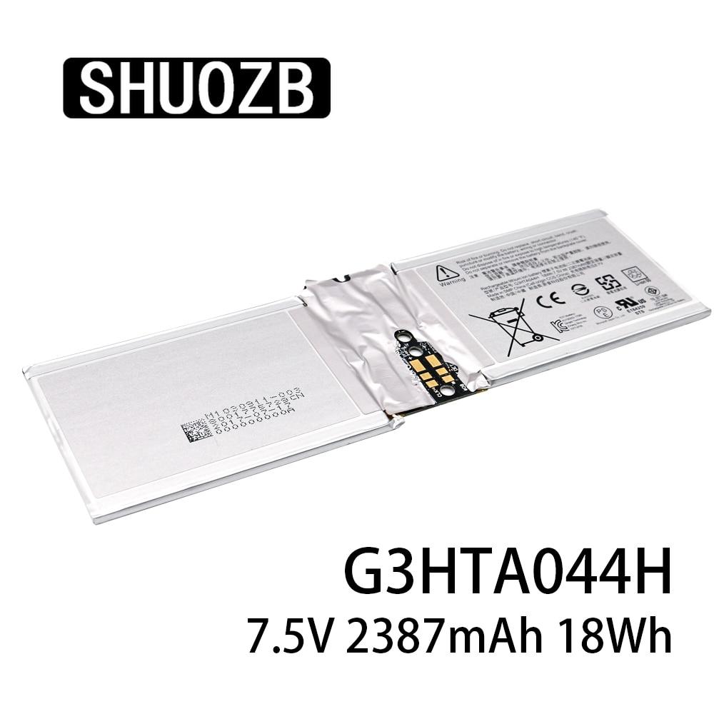 G3HTA044H DAK822470K G3HTA020H Laptop Battery For Microsoft Surface Book 1 1703 1704 1705 Screen Batterice 7.5V 2387MAH SHUOZB
