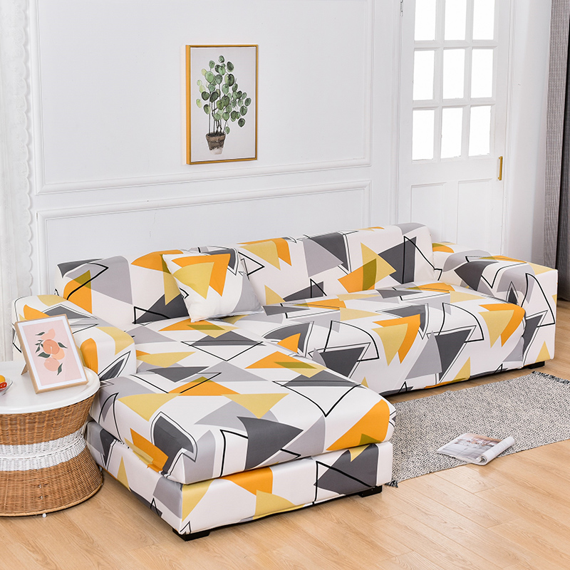Nordic minimalist sofa protective cover universal all-inclusive universal cover stretch chaise longue cushion lazy sofa cover