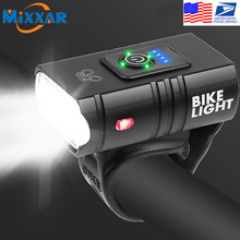 Bike-Light LED ZK20 Mountain-Road All-Bicycles Rechargeable USB T6 Fits
