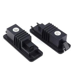 Image 5 - VODOOL plaque dimmatriculation de voiture, 2 pièces, éclairage, pour VW GOLF 4 5 6 7 Polo 6R, 12V LED