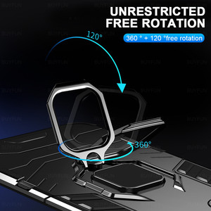Image 4 - שריון עמיד הלם מקרה עבור Xiaomi Poco X3 פרו Pocox3 NFC Poko Pocco Pocophone X 3 Stand רכב מגנטי טבעת מחזיק קשה כיסוי Coque