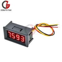 """0.36 """"DC Dígitos 4 0 100V Voltímetro Digital de Alta Precisão Medidor de Tensão Do Carro 12V 48V 60V Detector Monitor de Testador de Capacidade Da Bateria Medidores de tensão     -"""
