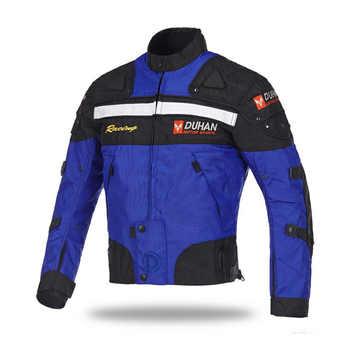 D020 Duhan motorcycle jacket Winter moto jacket protection 5 pcs Protective Gears 4 seasons capacete de motocross - Category 🛒 Automobiles & Motorcycles