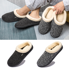 Couple Slipper Women Flat-Shoes Male Warm Winter And Cotton Causal Soft