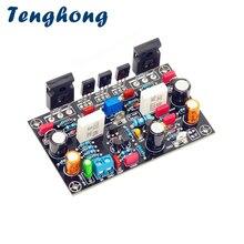 Placa amplificadora de potência tenghong, amplificador de áudio 100w com tubo irfp240, mono amp, áudio diy
