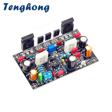 Tenghong ses güç amplifikatörü kurulu 100W Ultimate sadakat amplifikatörler MOS tüp Amplificador IRFP240 IRFP9240 Mono AMP DIY ses