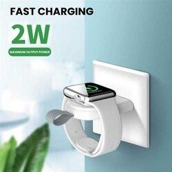 USB przenośna ładowarka bezprzewodowa stacja dokująca stacja dokująca pokrowiec do apple Watch 1/2/3/4/5 stacja dokująca stacja dokująca uchwyt ładowarka magnetyczna