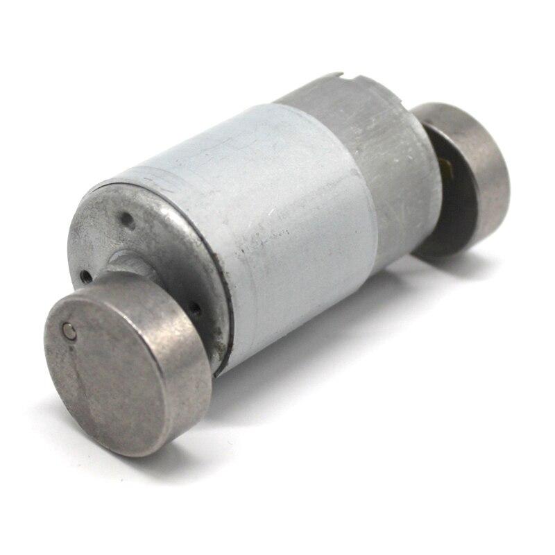 2pcs / Lot 550 Vibration Motor DIY Double Head Model Motor 6V / 12V High Torque Double Wheel Micro Vibration Motor