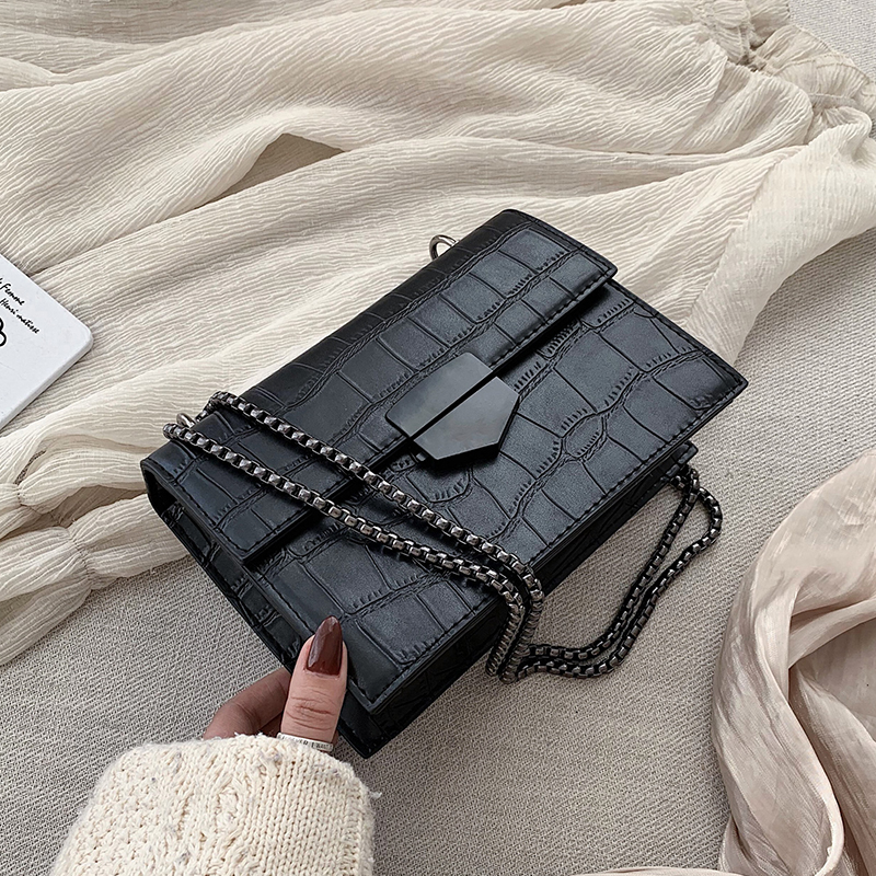 Rivets Designer PU Leather Crossbody Bags For Women 2020 Small Chain Shoulder Messenger Bag Female Travel Handbags