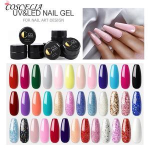 COSCELIA UV Gel Nail Art Tips Design Manicure Color UV LED Soak Off DIY Paint Gel UV Gel Nail Polishes
