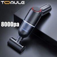 Tomule Draagbare Auto Stofzuiger Draadloze Oplaadbare Huishoudelijke Handheld Automatische Stofzuiger 8000Pa Hoge Zuigkracht