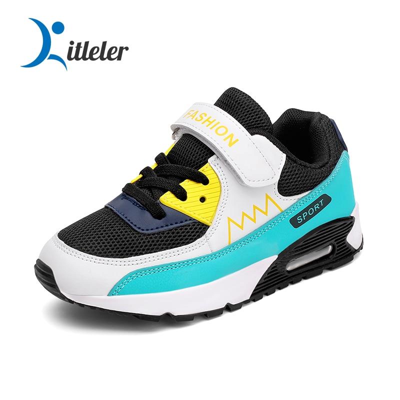 Кроссовки детские дышащие сетчатые повседневная спортивная обувь