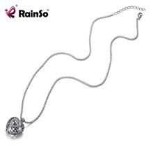 RainSo 2020 nowy naszyjnik ze stali nierdzewnej Link zdrowie na zapalenie stawów bioenergetyczna uzdrawiająca moc magnesy w kształcie serca ball naszyjniki tanie tanio STAINLESS STEEL Kobiety Moc naszyjniki CN (pochodzenie) TRENDY Link łańcucha Metal ROUND Wszystko kompatybilny Rocznica